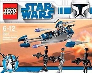 LEGO STAR WARS # 8015 ASSASSIN DROIDS BATTLE PACK DATED 2009 **NRFB**