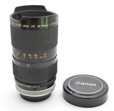 Canon FD Zoom Lens 2,8-3,5 / 35-70 mm S.S.C Objektiv Lens + Cap a37