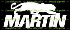 Martin Archery - Outdoor Sports/Bow Hunting - Vinyl Die-Cut Peel N' Stick Decal