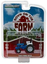 1:64 GreenLight *DOWN ON THE FARM* 1982 FORD 5610 Wide Front Tractor ROPS NIP!