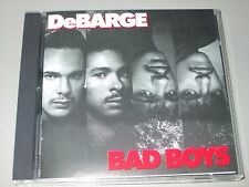 DeBarge - Bad Boys (CD) 9 Tracks - Striped Horse Records - Mint/New - Rare