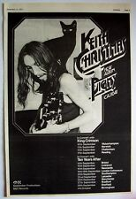 Keith Christmas 1971 vintage Poster Advert Pigmy Uk Concert Tour