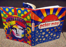 The Art of Peter Max Hand Signed  BOOK Make an Offer! With Dedication L@@K