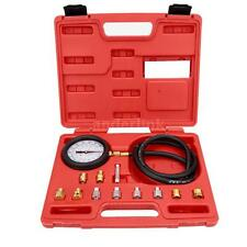 Auto Car Wave Box Pressure Meter Oil Pressure Tester Gauge Garage Test Tool Kit
