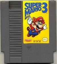 SUPER MARIO BROS 3 THREE BROTHERS GAMES NINTENDO GAME ORIGINAL NES HQ