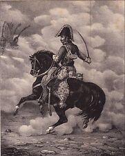 Général Lasalle Napoléon Bonaparte Premier Empire Cavalerie Hussard Wagram 1834
