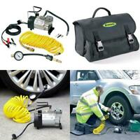 Ring Rac900 Heavy Duty Tyre Inflator, Air Compressor With 7M Extendable Airline,