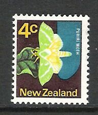 NEW ZEALAND 1970 4c PURIRI 'NO DARK GREEN VEINS' ERROR (UHM)