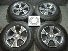 "2015-2018 Colorado Canyon Z71 17"" Factory OE Wheels Tires P255/65R17 Goodyear AT"
