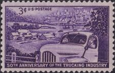 USA 1953 Postage Stamp - 50th. Anniversary of the Trucking Industry - MNH  #1025