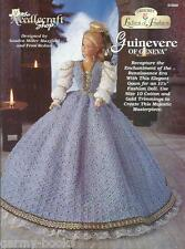 Guinevere of Geneva Ladies of Fashion Crochet Gown Pattern for Barbie Dolls NEW