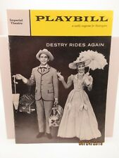 Playbill DESTRY RIDES AGAIN IMPERIAL THEATRE 1959 Andy Griffith Dolores Gray