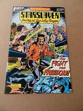 Starslayer  9 . First Comics  1983   - VF