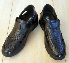 Men's shoes - Black Height Increasing Leather Shoes