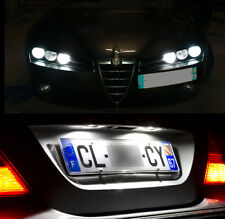 4 bombillas con LED Blanco Luces de posición + placa Alfa Romeo 159 SW break