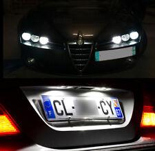 4 lampadine a LED Bianco Luci posizione + Luci di targa Alfa Romeo 159 SW break