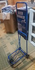 Beer Luggage Travel Cart dolly beach Natty Caddy salesman supply cart 2 wheeler