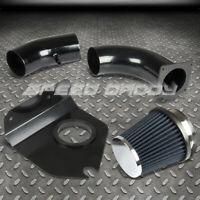 """FOR FORD MUSTANG 3.8 V6 COLD AIR INTAKE INDUCTION KIT+HEAT SHIELD 3"""" BLUE FILTER"""