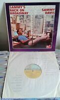 Sammy Davis Jr. - Sammy's Back On Broadway Reprise UK R6169 Mono LP 1965 ex/ex