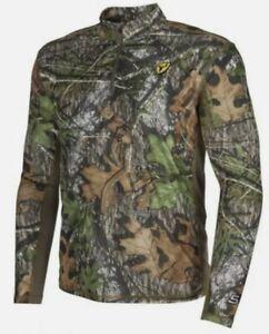 Scent Blocker Angatec 1/4 Zip Shirt  Mossy Oak Obsession Mens Size XL