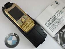 NOKiA 6300 MiT Original BMW Snap in Adapter★Montageanleitun !!NEU!!cover GOLD
