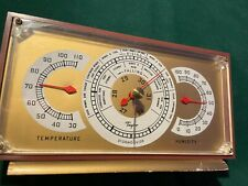 Vintage Taylor Desk Temperature, Stormoguide & Humidity Weather Station
