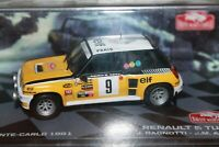 RENAULT - 5 TURBO - RALLY MONTECARLO - 1981 - SCALA 1/43