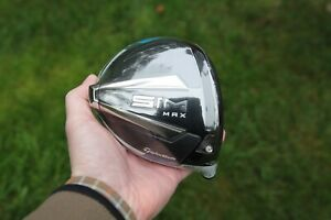 NEW Tour Issue TaylorMade SIM MAX 8 Driver Head (TOUR ONLY CLUB)