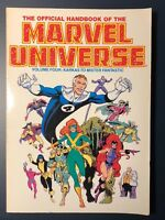 Official Handbook of the Marvel Universe Volume 4 Four Karkas Mister Fantastic