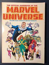 Official Handbook of the Marvel Universe Volume 4 Four Karkas Mister Fantastic