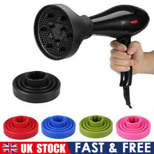 Salon Universal Professional Silicone Hair Dryer Diffuser Cover Foldable Travel
