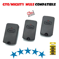 GTO Mighty Mule Compatible RB741 FM135 Remote Control Transmitter 3 Pak