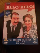 Allo 'Allo - Complete Boxset DVD  84 EPISODES 16 DISC BOX SET BBC new and Sealed