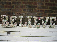 Shell Letters, Beach Decor BELIEVE Shell Letters Sign, Seashells, Wedding Gift