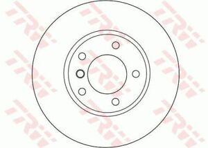 TRW Brake Rotor Rear DF4450S fits BMW 1 Series 116 i (E87) 85kw, 118 d (E87) ...