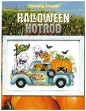 Halloween Hotrod Lft509 by Stoney Creek cross stitch pattern