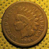 1864-L Indian Head Cent with L and all letters in LIBERTY showing!