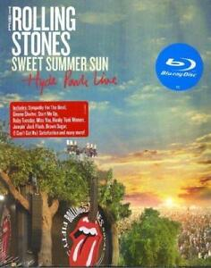 The Rolling Stones - Sweet Summer Sun - Hyde Park Live (NEW BLU-RAY)