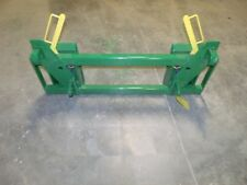 eEuro global  Loader to Skid Steer-attachments adapter Green