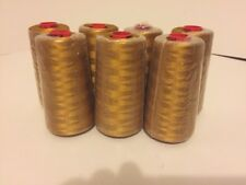 Gunold  Sulky 1025 MINE GOLD Embroidery 40w Thread 5000m Cone 1 or All Make Offr