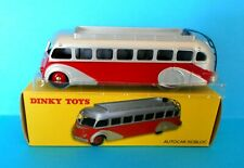 DINKY TOYS 29 E AUTOCAR ISOBLOC  BUS 2576043 ATLAS EDITIONS 1/43 [N]