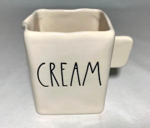 "Rae Dunn  Ceramic  Square Style  ""CREAM""  Pitcher (Brand New)"