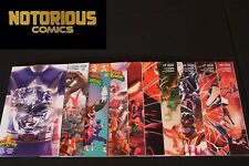 Mighty Morphin Power Rangers 0 1 2 3 4 5 6 7 8 Complete Comic Lot Run Set Blue
