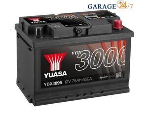 ACCUMULATORE AUTO YUASA - YBX3096