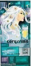 Publicité Advertising 1972 Eau de Toilette Parfum Coryssima Coryse salomé