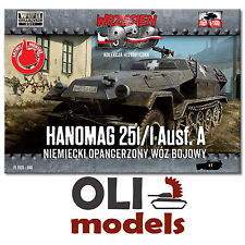 1/72 WWII German Hanomag Sd.Kfz. 251/1 Ausf.A Halftrack - First to Fight 040