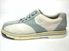 Dexter Womens Bowling Leather Shoes Sneakers Off White Baby Blue US 8 EU 38 - 39