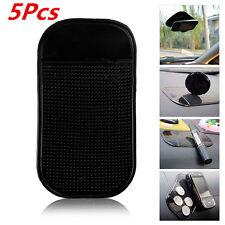 5Pcs Black Car Magic Sticky Pad Anti-Slip Mat Non-slip For Glass Cell Phone etc.