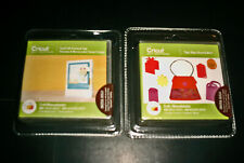 2 Cricut Cartridges - Small Talk Frames and Tags AND Tags Bags Boxes and More