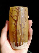 DAUM NANCY Vase Original Jugendstil Glas Art Nouveau Gallé